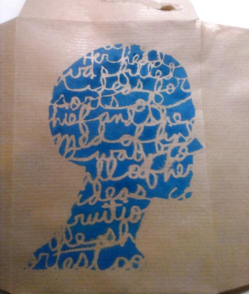 3 Head Stencil Bibi envelope