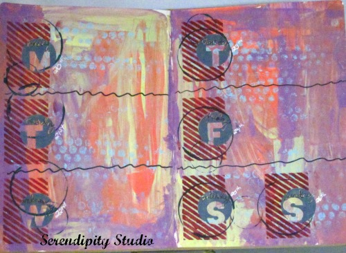 Art journal calendar 11