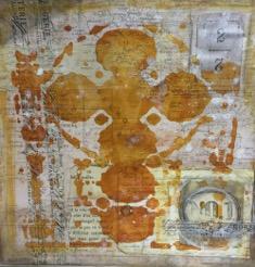 Gold stencil