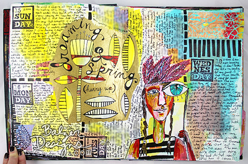 Balzer Designs Blog: Art Journal Every Day
