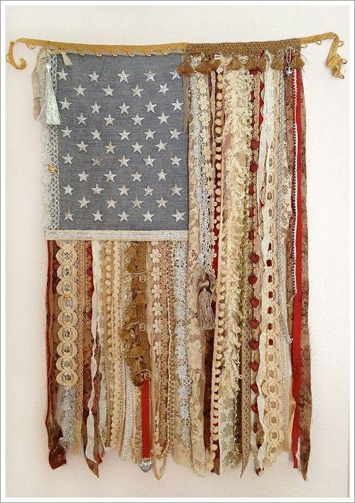 From the Balzer Designs Blog: Ribbon Flag Tutorial