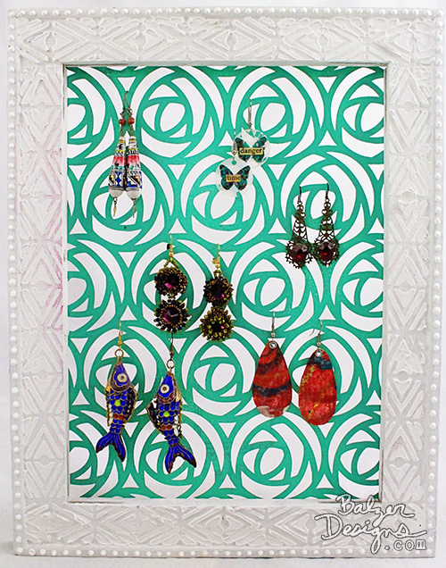 Balzer Designs: Earring Holder