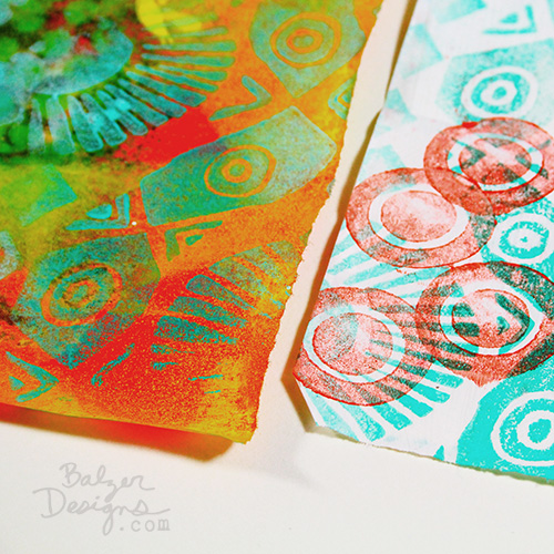 from the Balzer Designs Blog: Exploring Art Foamies (video in the post)
