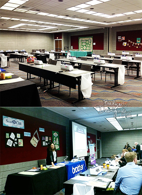 from the Balzer Designs Blog: Brother Back To Business Conference 2015