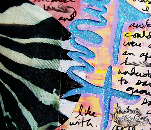 from the Balzer Designs Blog: Art Journal Every Day #artjournal August 2015 Daily Pages