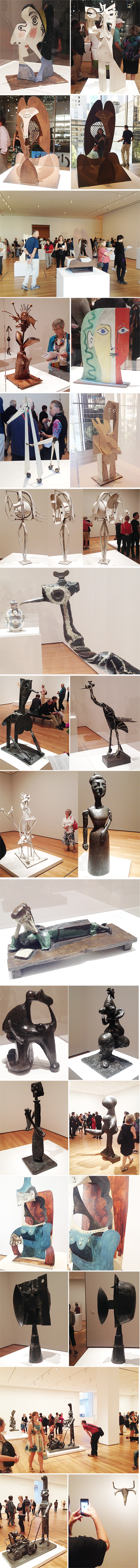 from the Balzer Designs Blog: Picasso Sculpture at MoMA