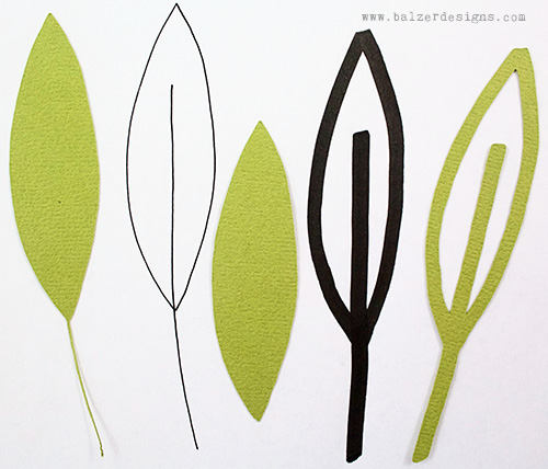 from the Balzer Designs Blog: #ScanNCut Techniques Galore