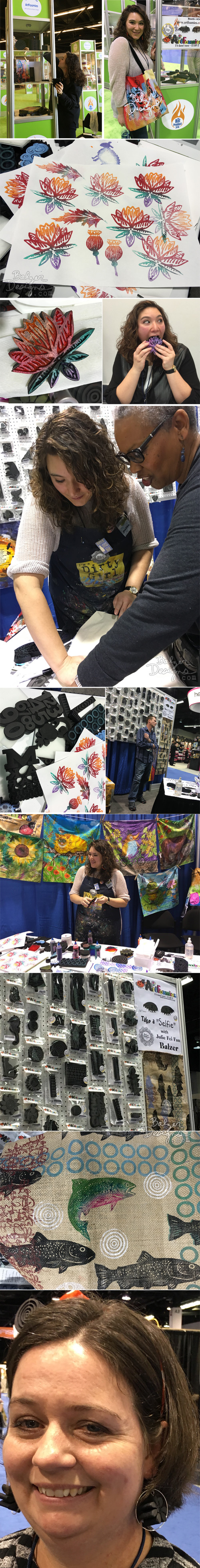 from the Balzer Designs Blog: Craft & Hobby Association Show: CHA 2016