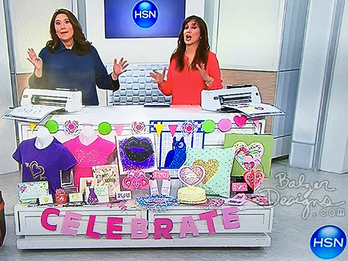from the Balzer Designs Blog: ScanNCut on HSN Recap