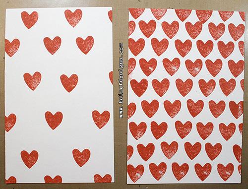 From the Balzer Designs Blog: Valentine's Week: Heart Patterns
