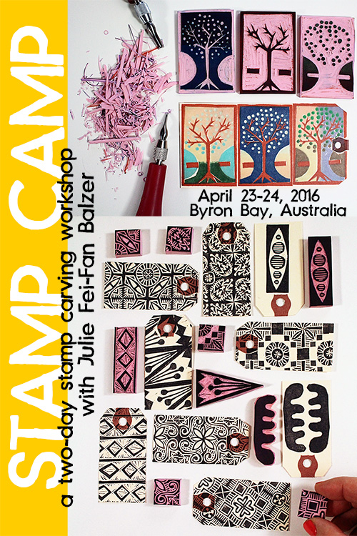 from the Balzer Designs Blog: Stamp Camp In-Person Class