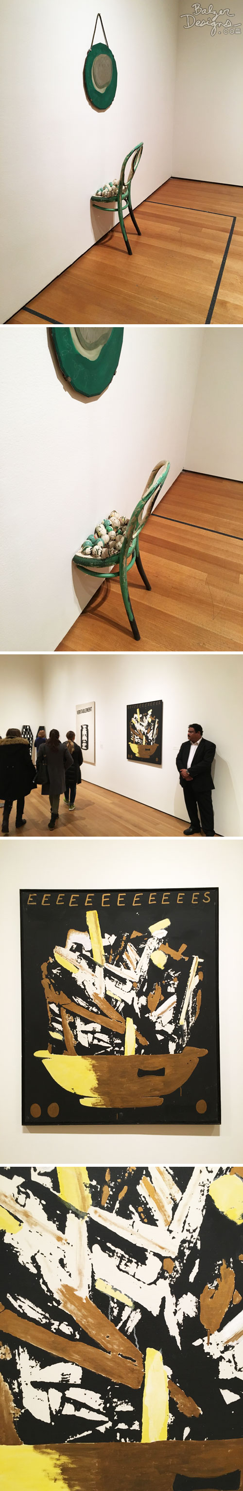 from the Balzer Designs Blog: MoMA in March