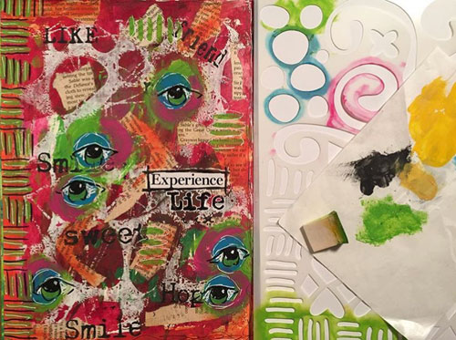 From the Balzer Designs Blog: Sharing some #TCWStencilLove