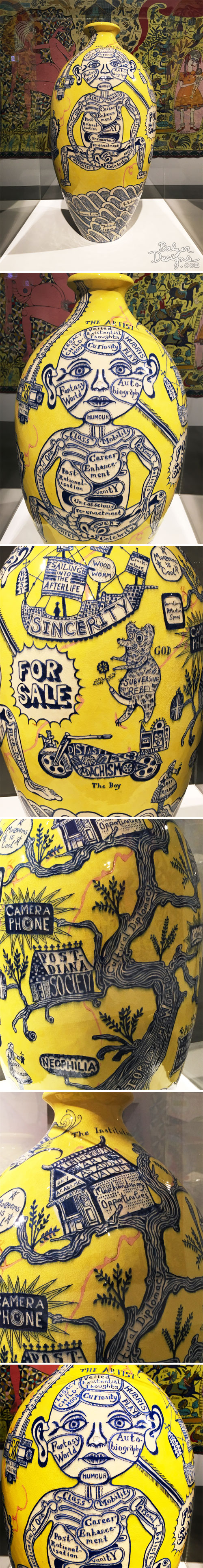 From the Balzer Designs Blog: Grayson Perry Exhibit