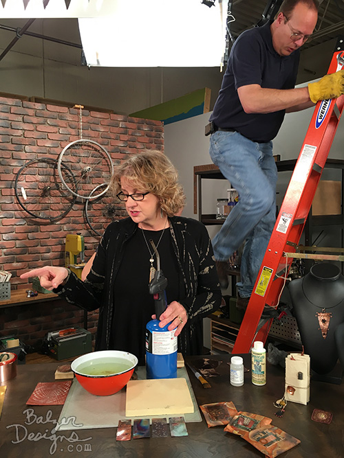from the Balzer Designs Blog: Make It Artsy TV: Filming Season 1