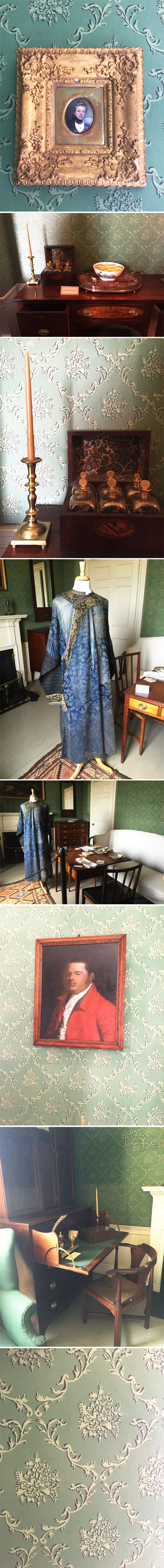 from the Balzer Designs Blog: Jane Austen Tour of Gore Place