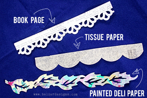 from the Balzer Designs Blog: #ScanNCut Technique: Cutting Thin Papers