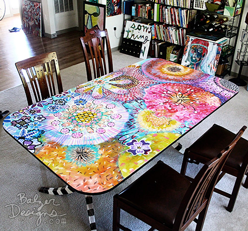 Diy Painted Kitchen Table And Chairs
