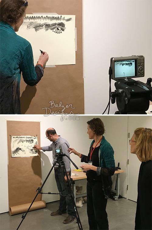 from the Balzer Designs Blog: Harvard Art Museums Materials Lab Workshop: Carbon