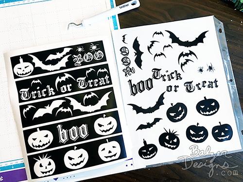from the Balzer Designs Blog: Spooktacular Mason Jars for Halloween