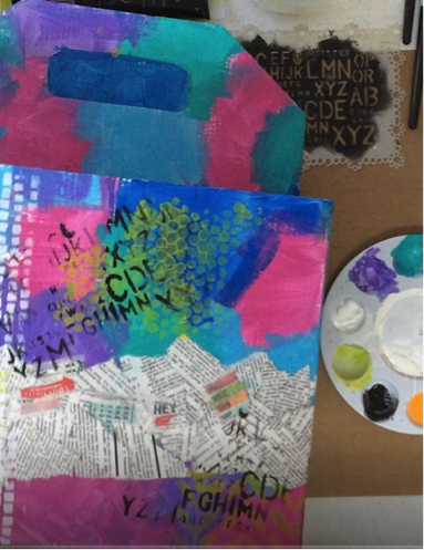 From the Balzer Designs Blog: Guest Post: Art Caddy with Patty Eskridge
