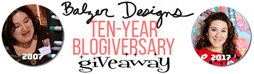 from the Balzer Designs Blog: Blogiversary Story & Giveaway: Art Foamies & Me