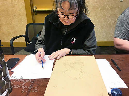 from the Balzer Designs Blog: Art Classes at Canyon Ranch 2017
