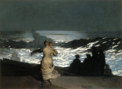 Winslow_Homer_-_Summer_Night_(1890)