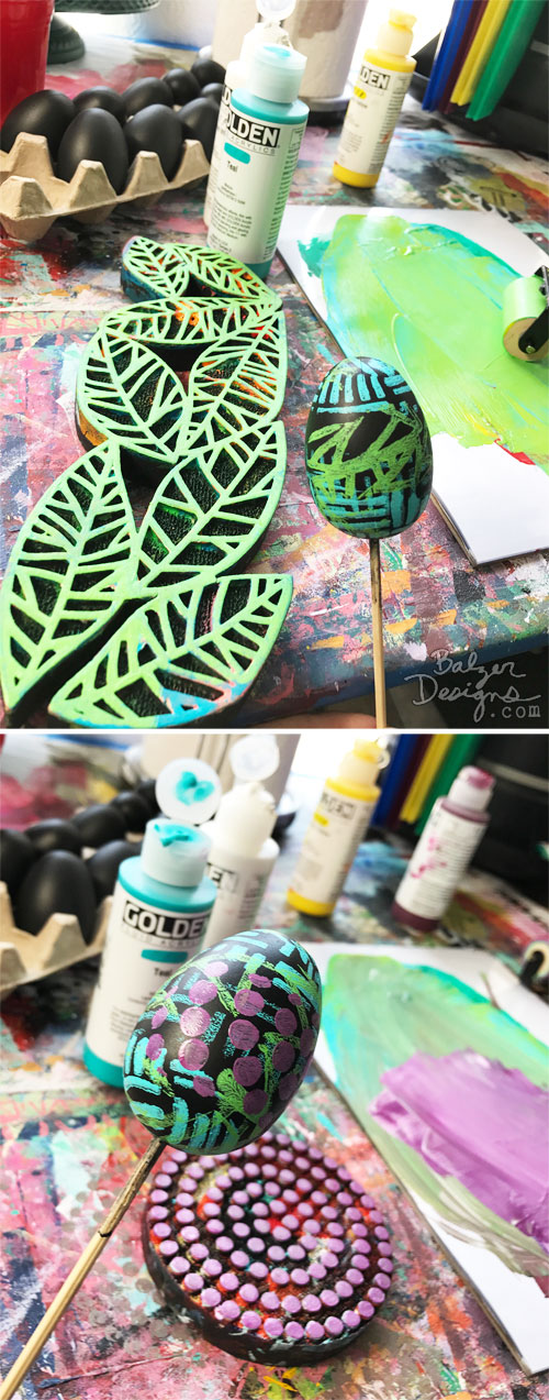 From the Balzer Designs Blog: Easter Eggs Techniques with Suzanne