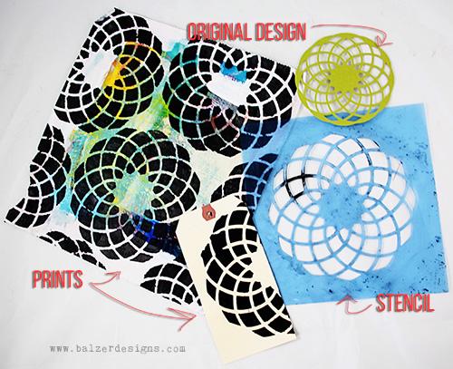 from the Balzer Designs Blog: #ScanNCut tutorials