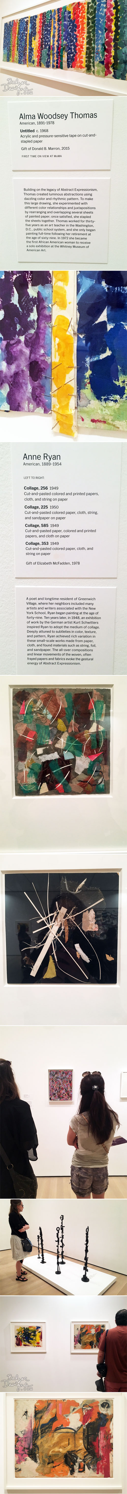 From the Balzer Designs Blog: Making Space: Women Artists and Postwar Abstraction at MoMA