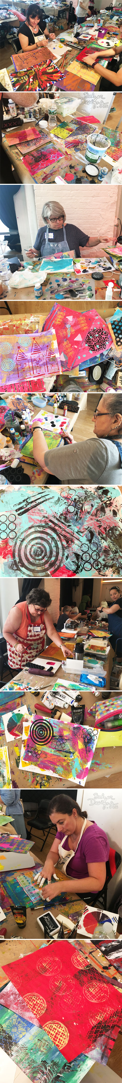 From the Balzer Designs Blog: Pamphlet Journal Class at the Ink Pad