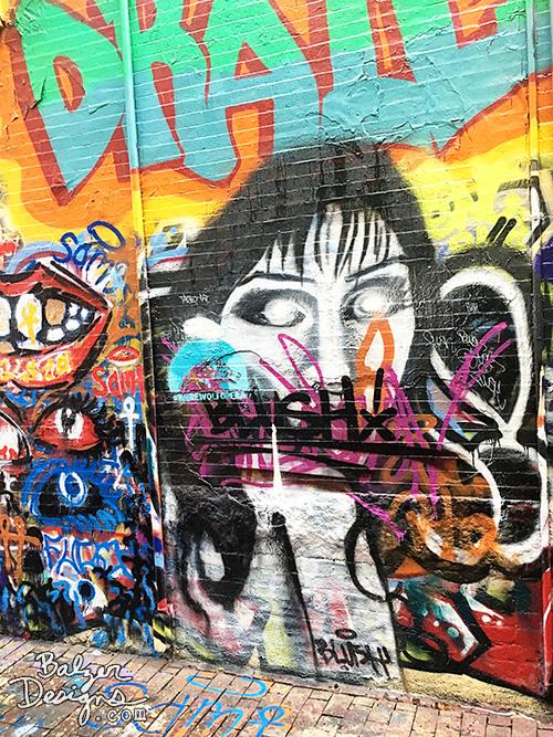 from the Balzer Designs Blog: Graffiti Alley in Cambridge, MA