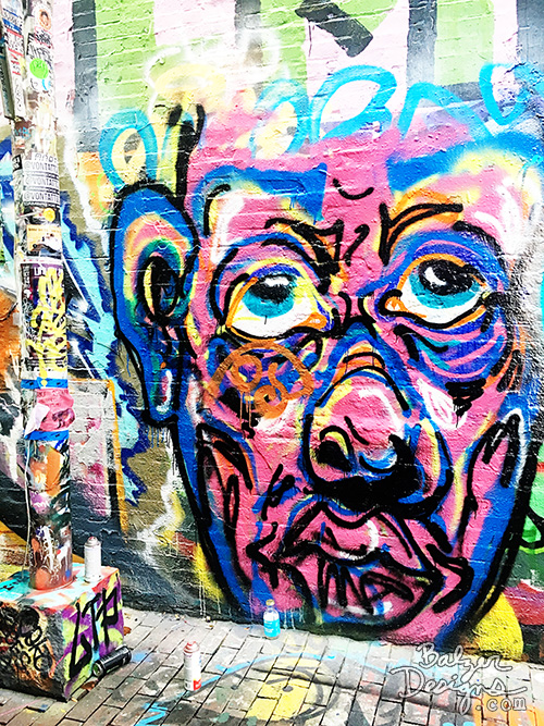 from the Balzer Designs Blog: Graffiti Alley in Cambridge, MA