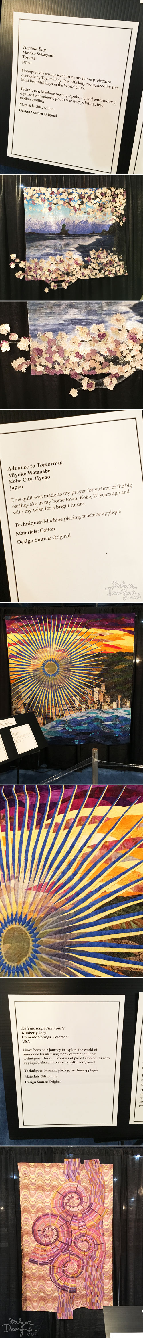 From the Balzer Designs Blog: Quilt Festival 2017: Part Four