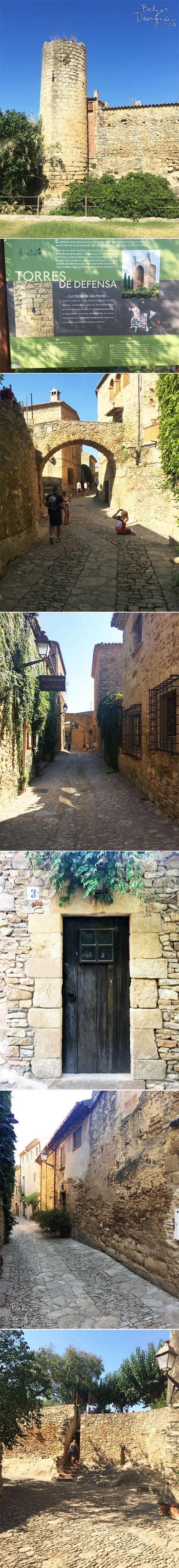 From the Balzer Designs Blog: Medieval Village: Pals