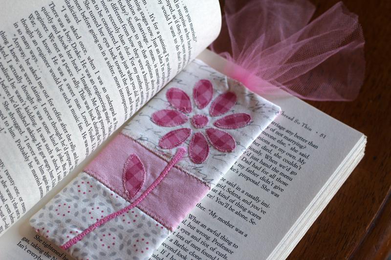 Flower-bookmark