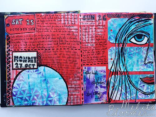 Melita Bloomer - Junque Journal D500