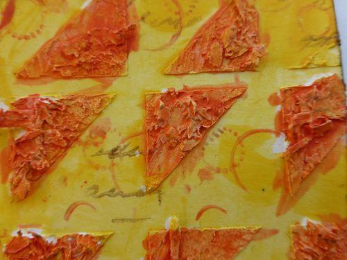 Photo 19 coloured sawdust