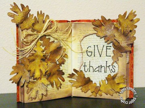 Give thanks book - tsanders
