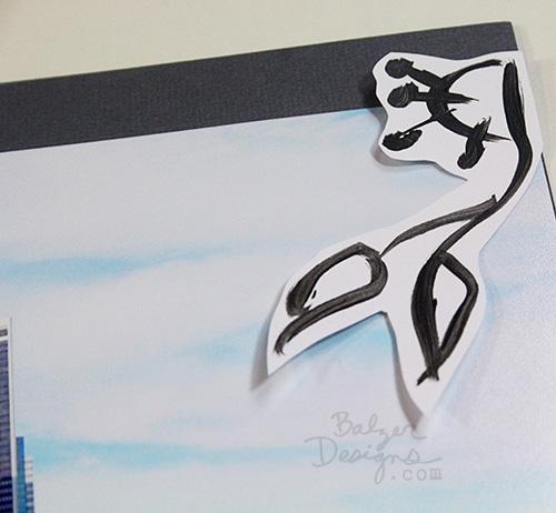 Balzer Designs scrapbook page