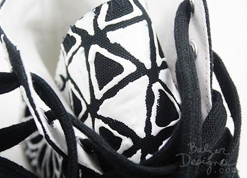 Balzer Designs Shoe Redo: Painted High Tops