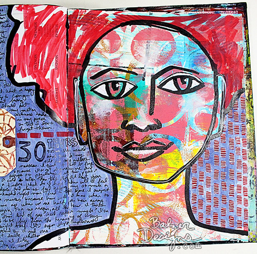 Balzer Designs: Art Journal Every Day: The End of a Journal