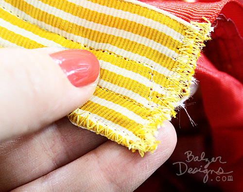 From the Balzer Designs Blog: Ribbon Flag Tutorial