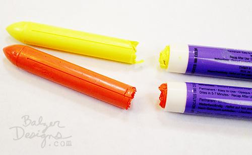 from the Balzer Designs Blog: Sakura Solid Marker Hack TUTORIAL