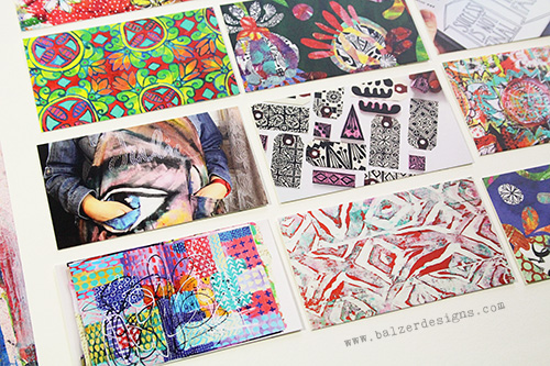 from the Balzer Designs Blog: New Moo Business Cards