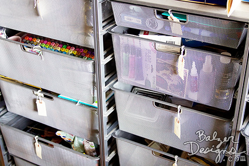 from the Balzer Designs Blog: Studio Tour