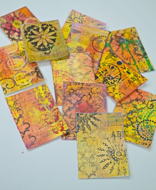 from the Balzer Designs Blog: Easy Peasy Artist Trading Cards with Rebekah