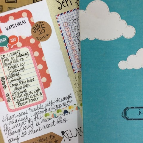 from the Balzer Designs Blog: Art Journal Every Day: Guest Post: Journal for a Happy Life with Diana Trout