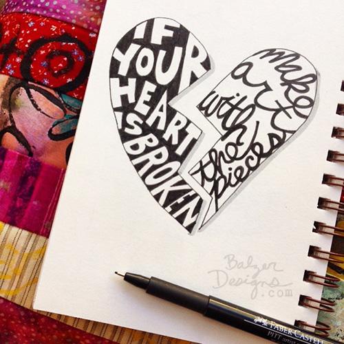 from the Balzer Designs Blog: #inktober 2015: part one